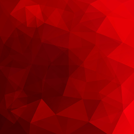 Illustration pour Abstract background consisting of red triangles. Geometric design for business presentations or web template banner flyer. Vector illustration - image libre de droit