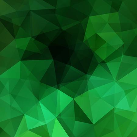 Ilustración de Abstract geometric style green background. Vector illustration - Imagen libre de derechos