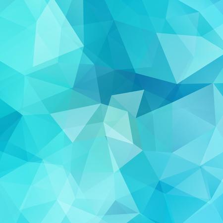 Illustration pour Abstract geometric style blue background. Vector illustration - image libre de droit
