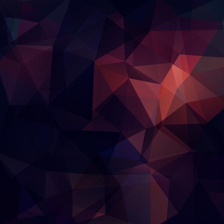 Illustration pour Background of purple, brown geometric shapes. Mosaic pattern. Vector illustration - image libre de droit