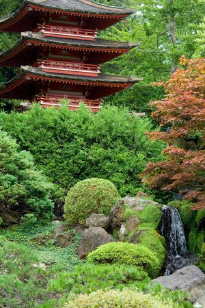 Japanese Tea Garden, Golden Gate park, San Francisco