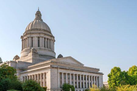 Photo pour State Capitol (Legislative building) in Olympia, capital of Washington state, USA - image libre de droit