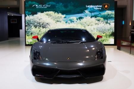 Bangkok - June 20   Lamborghini Gallardo on display at The 2nd Bangkok International Auto Salon 2013 in June 20, 2013 in Bangkok