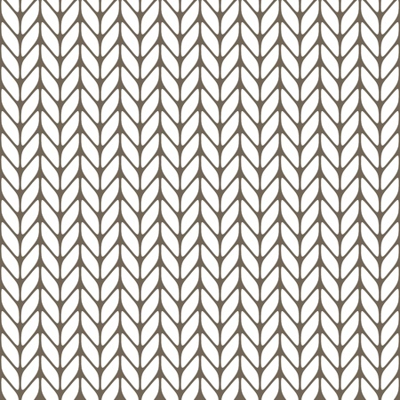 Seamless knitted background  Vector illustration