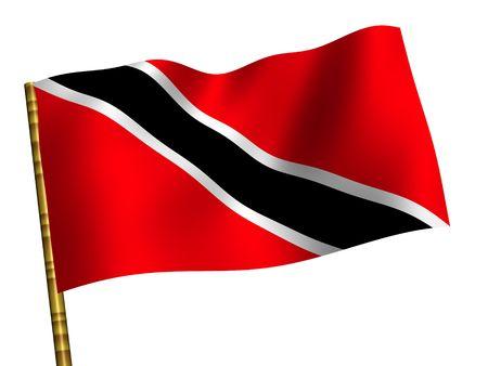 National Flag. Trinidad and Tobago