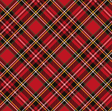 Tartan, plaid pattern background.Folk Retro style.Fashion