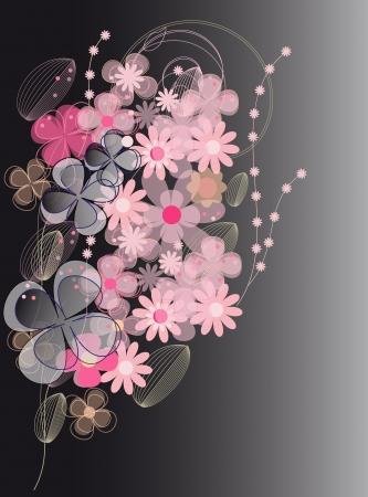 Vector flower background (eps 10)