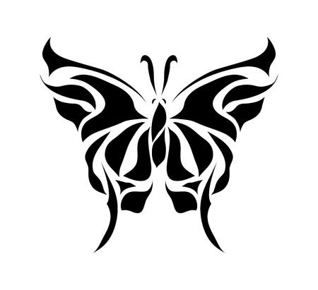 Illustration pour Retro floral butterfly background vector eps 8 - image libre de droit
