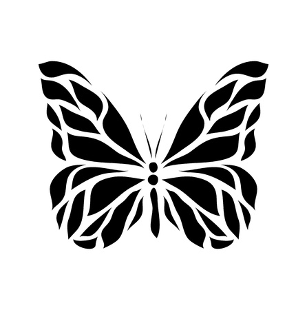 Retro floral butterfly background vector eps 8