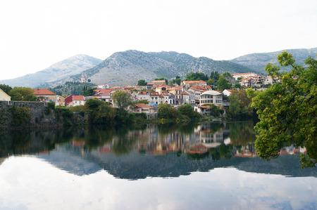 City of Trebinje and the river Trebisnjica