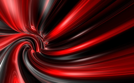 Abstract background of the red line with reflections