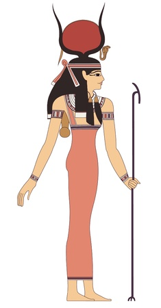 Illustration pour ancient egypt art - image libre de droit