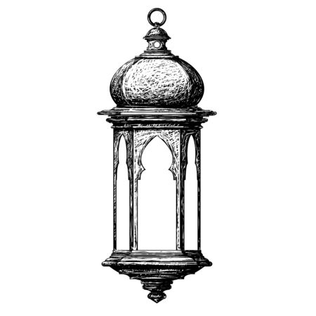 Illustration for ramadan lantern - Royalty Free Image