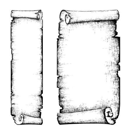 Illustration pour scroll - image libre de droit