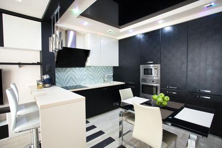Interior kitchen. Modern kitchen