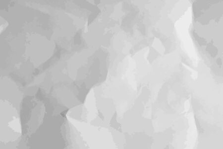 Illustration for Crumpled paper texture. Abstract background. Vector illustration. - Royalty Free Image
