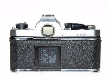 Single lends reflex film camera back