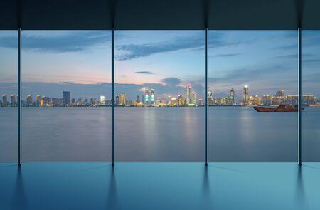Photo pour Manhattan office city view - image libre de droit