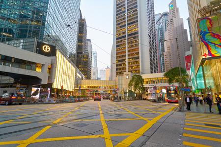 Photo pour HONG KONG, CHINA - CIRCA JANUARY, 2019: Hong Kong in the evening. - image libre de droit