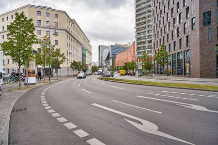 Photo pour BERLIN, GERMANY - CIRCA SEPTEMBER, 2019: Berlin urban landscape in the daytime. - image libre de droit