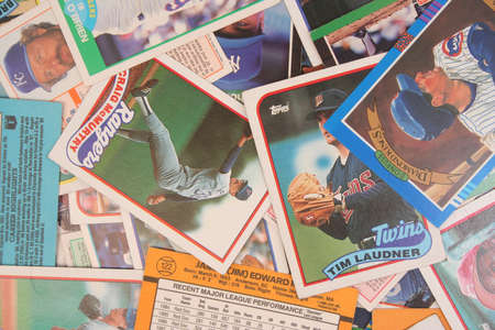A Scattered Collection of Vintage Baseball Cards