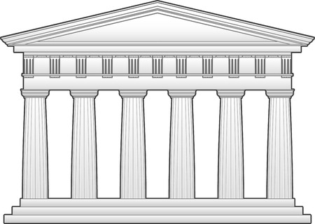 Greek temple, doric order