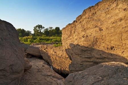 Sam panbok rock field ,grand canyon in Thailand