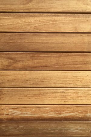 Photo pour Timber red  brown wood plank panel texture with natural striped pattern background - image libre de droit