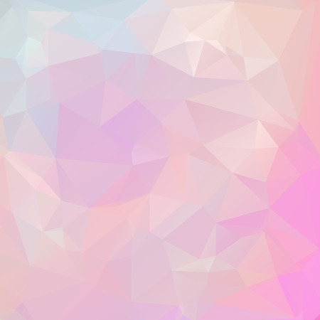 Abstract pastel color triangle shape background vector illustration