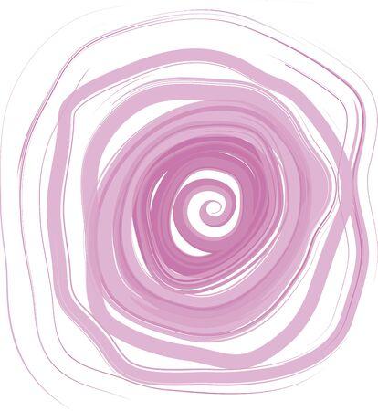fondo rosa en forma de espiral