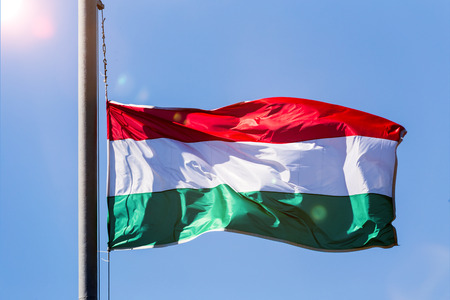 the hungarian national flag
