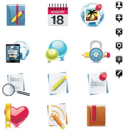 social media icon set. Part 2