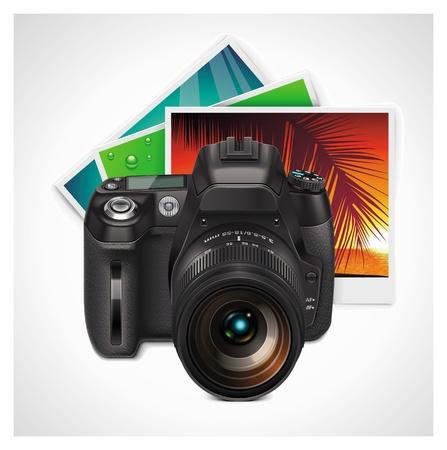 Vector camera and photos XXL icon