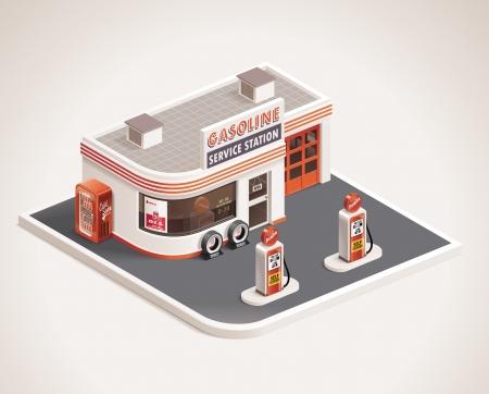 roadside gas station XXL icon