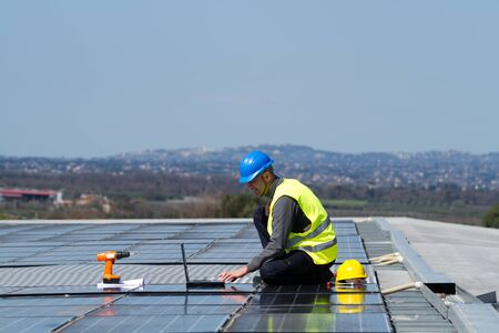 Photo for photovoltaic - Royalty Free Image