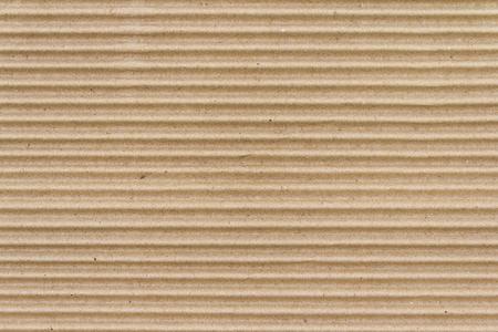 Foto de Brown paper box or Corrugated cardboard sheet texture - Imagen libre de derechos