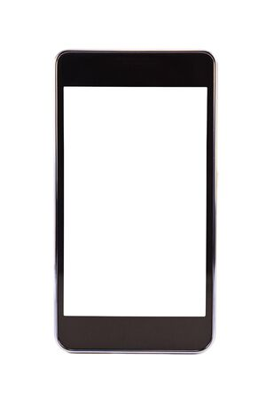Photo for Mobile phone on a white background - Royalty Free Image