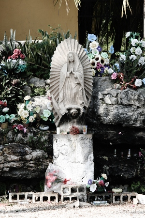 Virgin Mary stature Mexico