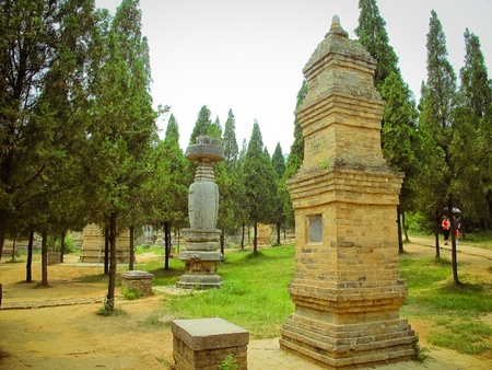 Forest of pagoda in Shaolin Temple