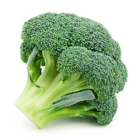 Photo pour Broccoli isolated on white background - image libre de droit