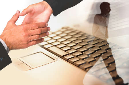Photo pour modern business concept - image libre de droit