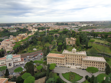 Foto per The vatican in rome at summer evening - Immagine Royalty Free
