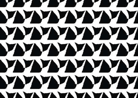 Illustration pour Vector texture background, seamless pattern. Hand drawn, black and white colors. - image libre de droit
