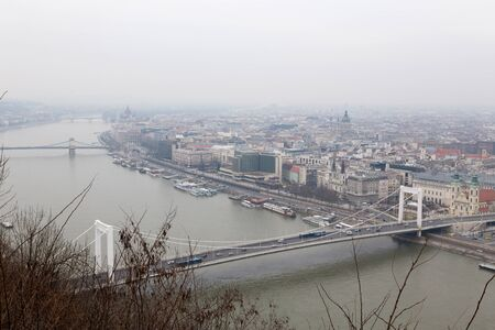 Panorama view from Gellert Hill