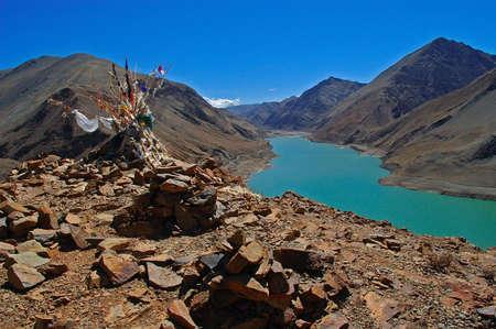 Mani Stone and Lake