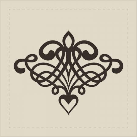 Design element for decorations   Vector illustration