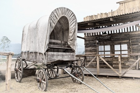 Photo for Wild West cart - Royalty Free Image