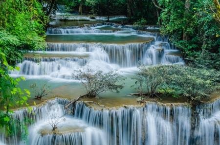 Huay Mae Khamin Waterfall is