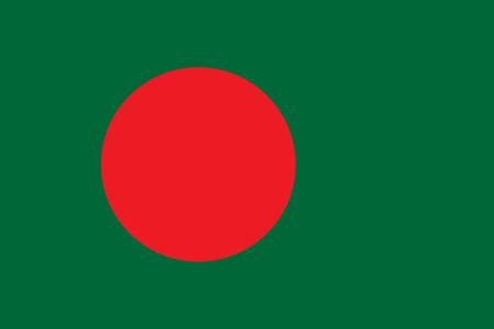 Bangladesh Flag vector illustration