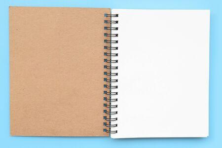 Photo pour close up of notebook for background - image libre de droit